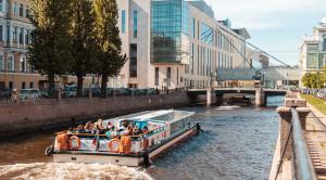 «Canal Cruise» - экскурсия по рекам и каналам Петербурга - уменьшенная копия фото №2