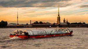 «Истории разводных мостов» - ночная водная прогулка - уменьшенная копия фото №1